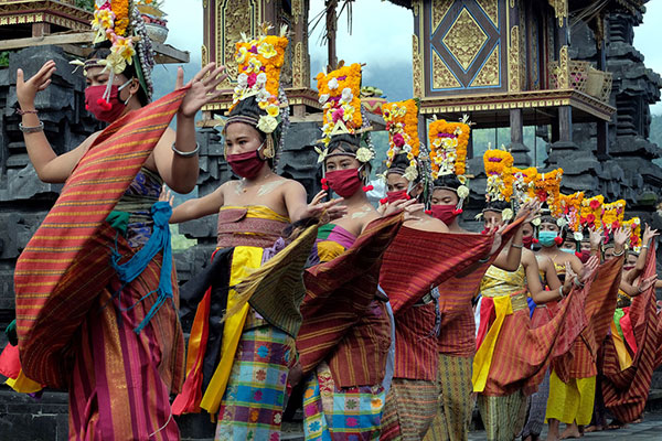 Portrait of Balinese Customs and Culture in the Middle of a Pandemic